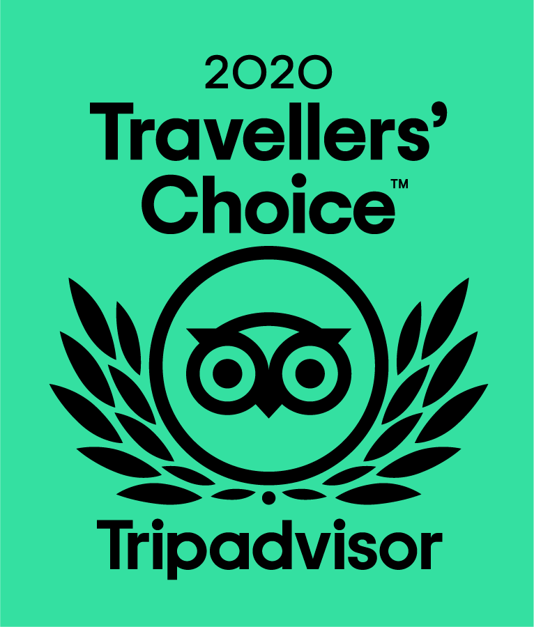 Tripadvisor Certificate of Excellence 2020 - Hall of Fame