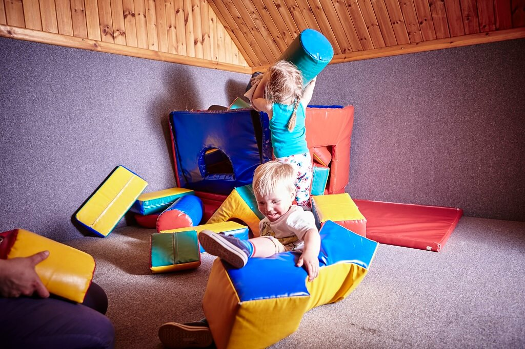 Toddler soft play room